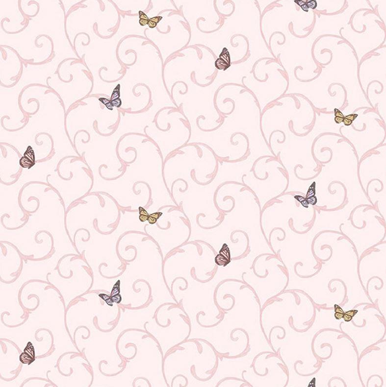 Papel de Parede All Kids Borboletas H2910904 - Rolo: 10m x 0,53m