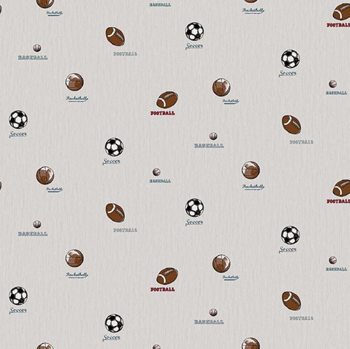 Papel de Parede All Kids Esportes H2910505 - Rolo: 10m x 0,53m