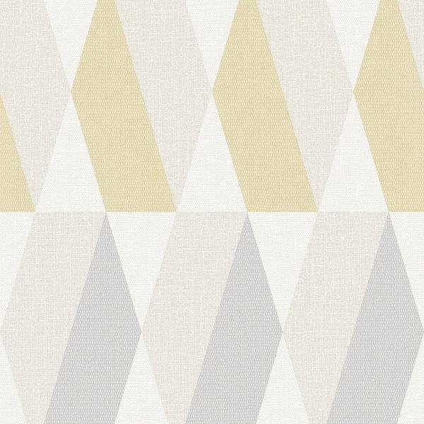 Papel de Parede Opus Textile Hexagon SN3412 - Rolo: 10m x 0,53m