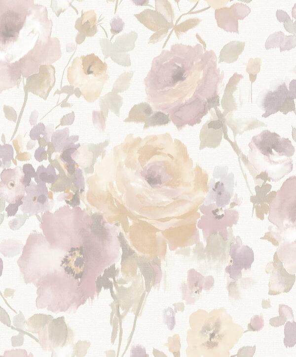 Papel de Parede Opus Floral Motif SN3006 - Rolo: 10m x 0,53m