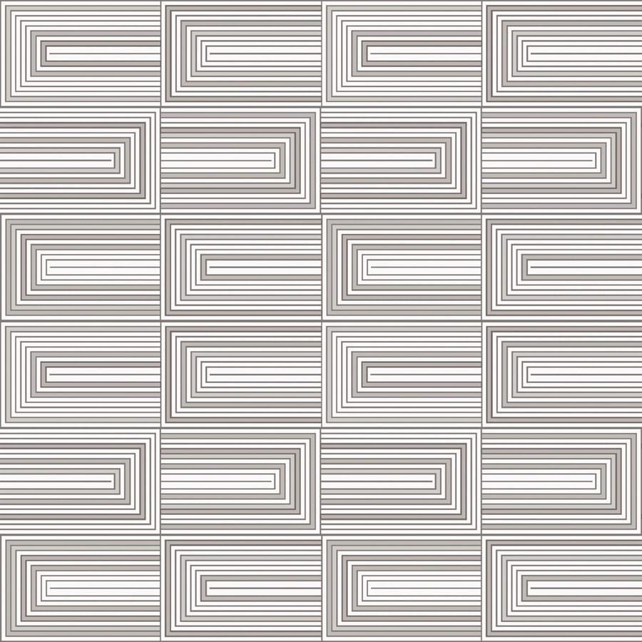 Papel de Parede Line Art Diagrama PC8V018 - Rolo: 10m x 0,53m