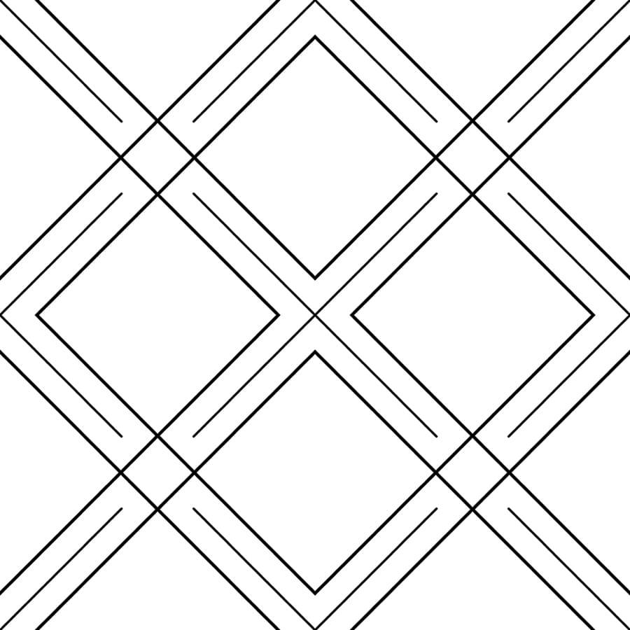 Papel de Parede Line Art Geometria MT779003 - Rolo: 10m x 0,53m