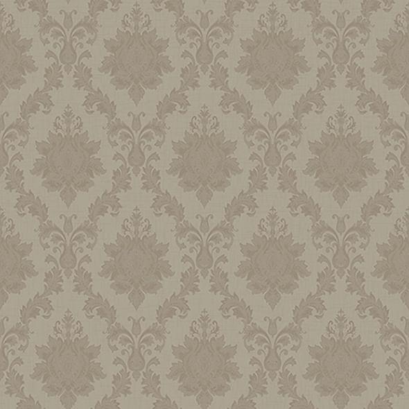Papel de Parede Totem Damask Aspecto Têxtil WA30106 - Rolo: 10m x 0,53m