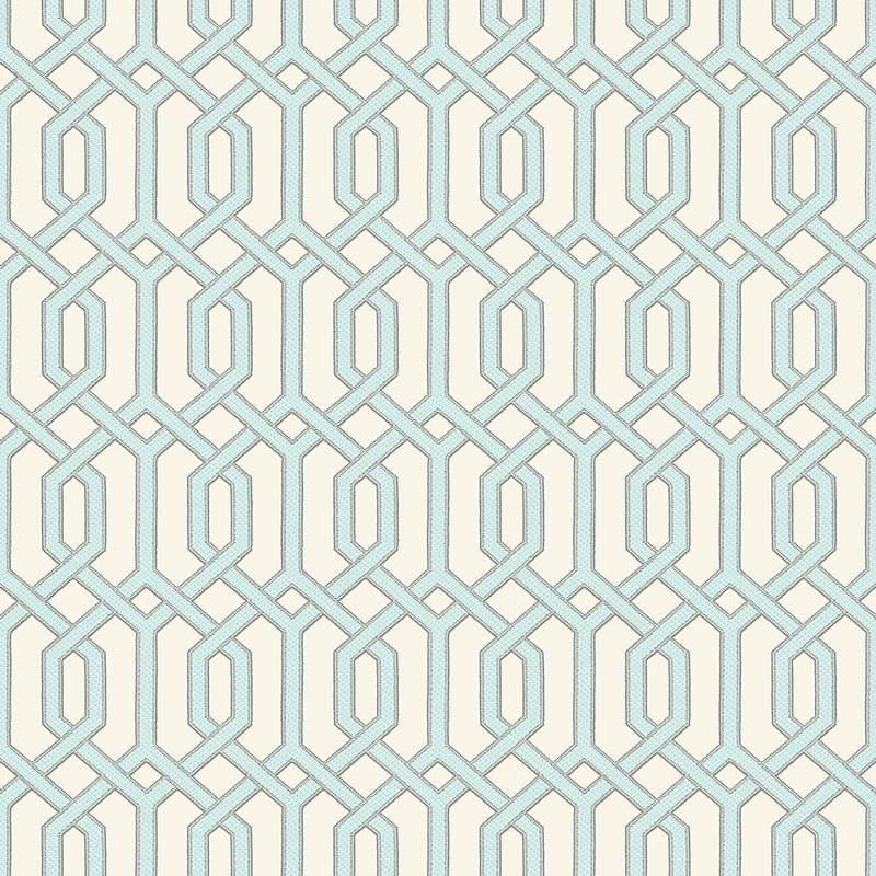Papel de Parede Beaux Arts 2 Hexágono Clássico  BA220013 - Rolo: 10m x 0,53m