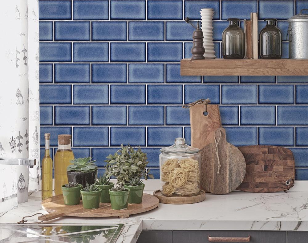 Papel de Parede Beaux Arts 2 Azulejo Tijolinho BA220107 - Rolo: 10m x 0,53m