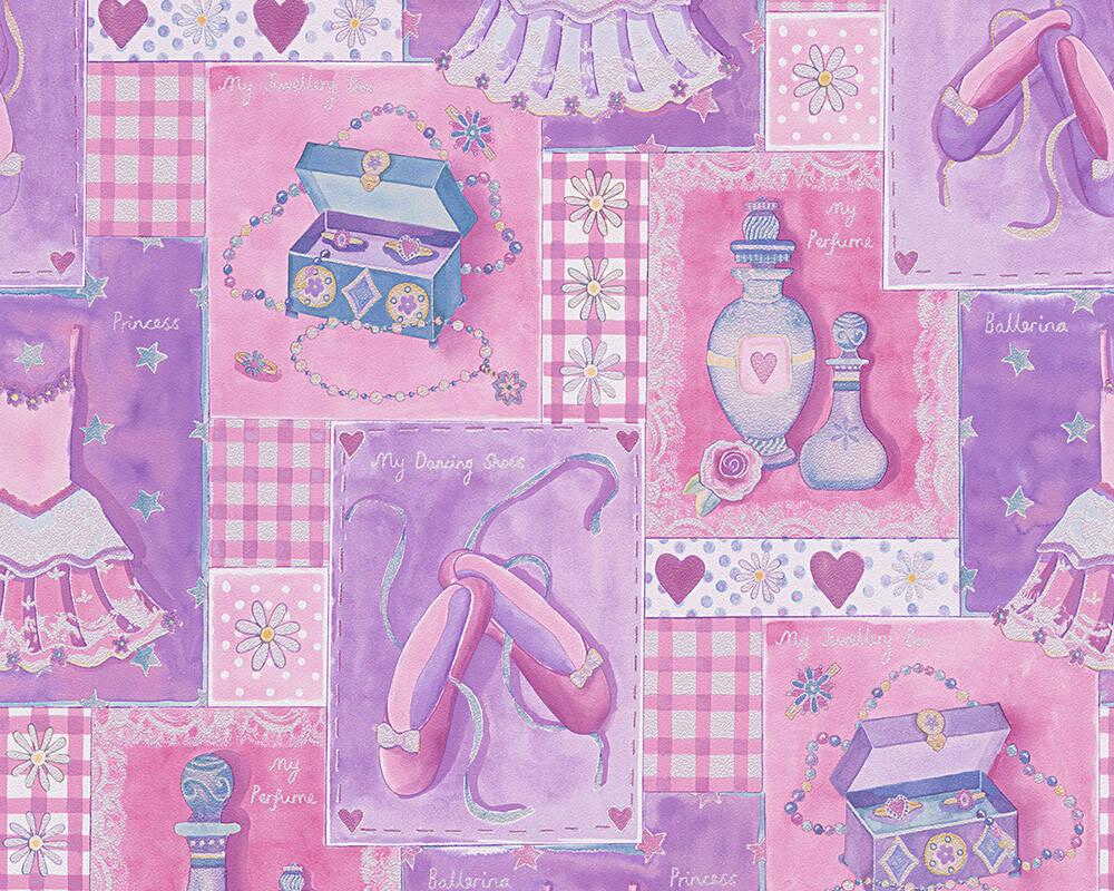 Papel de Parede Boys e Girls 6 305971 - Rolo: 10m x 0,53m