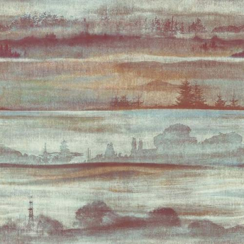 Papel de Parede Esplendido Floresta wp0101003 - Rolo: 10m x 0,53m