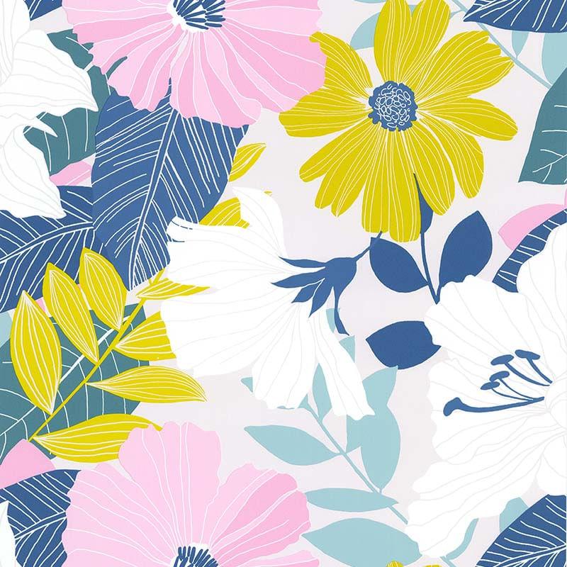 Papel de Parede Sejours Et Chambres Bouquet 51194803 - Rolo: 10m x 0,53m