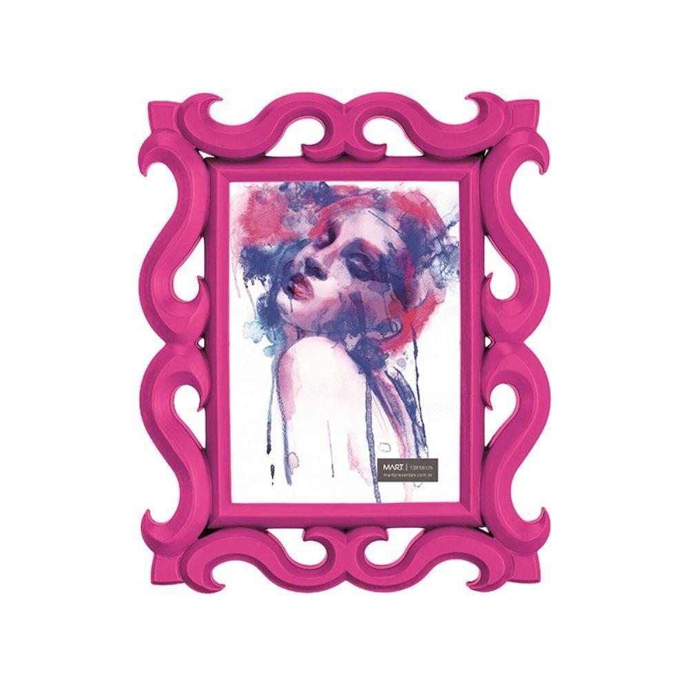 Porta Retrato Rosa 13 x 18