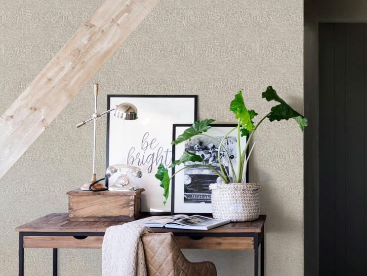 Papel de Parede Riviera Maison Rustic Linen 219946 - Rolo: 10m x 0,53m
