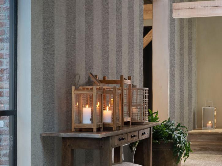Papel de Parede Riviera Maison Large Stripes 219895 - Rolo: 10m x 0,53m