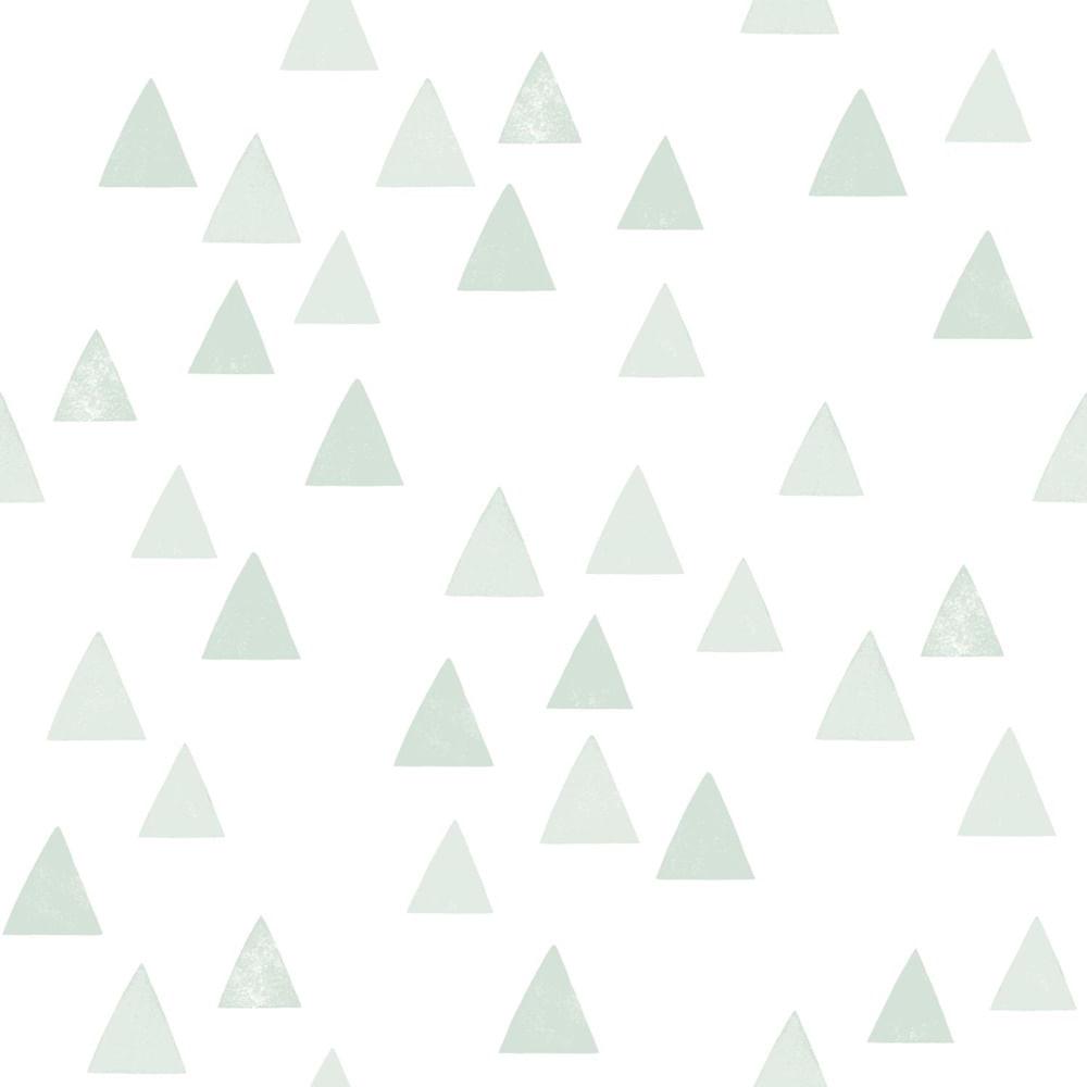 Papel de Parede Let's Play Triângulos 153139055 - Rolo 10m x 0,53m