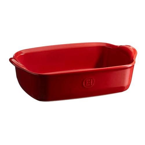 Travessa Retangular Vermelha 22 x 14 cm - 33010034 - Emile Henry