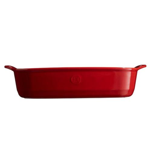 Travessa Retangular Vermelha 42 x 28 cm - 33010334 - Emile Henry