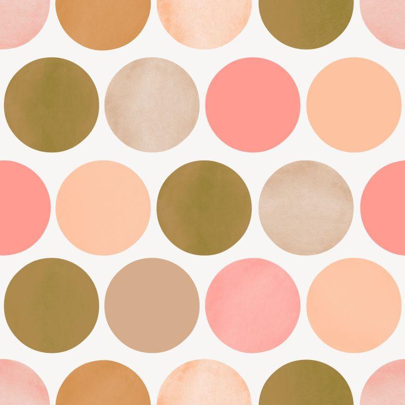 Papel de Parede FAB Large Dots 138858 - Rolo 10m x 0,53m