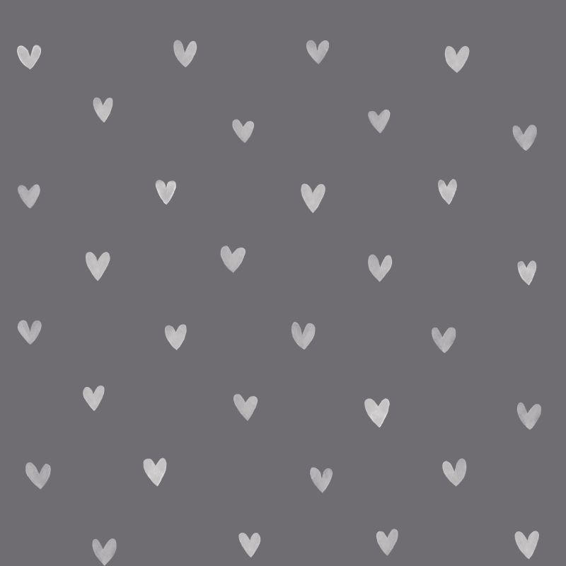Papel de Parede FAB Little Hearts F128832 - Rolo 10m x 0,53m