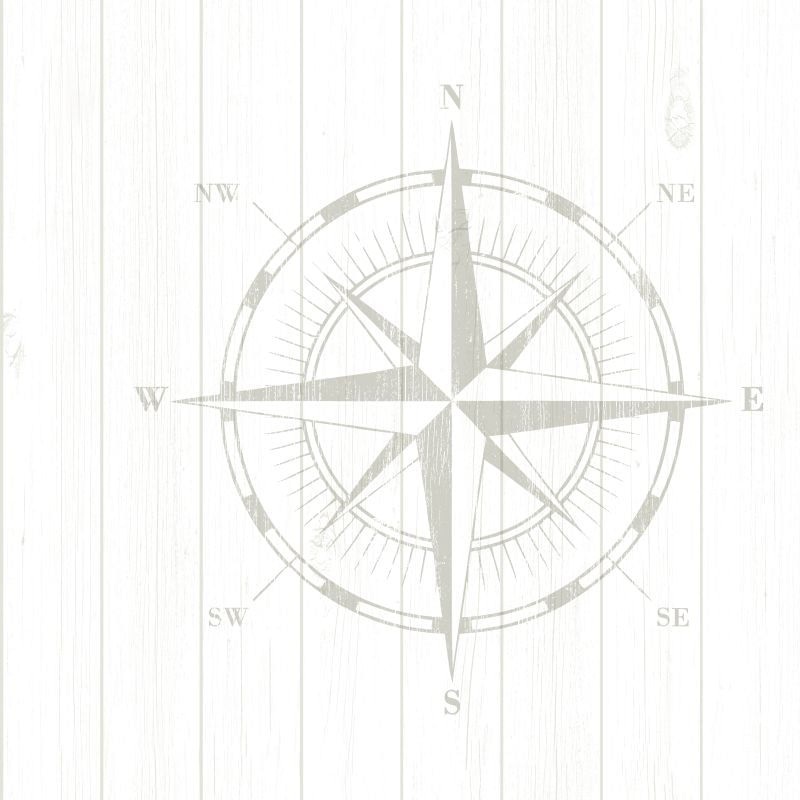 Papel de Parede Regatta Crew Rosa dos Ventos 138974 - Rolo 10m x 0,53m