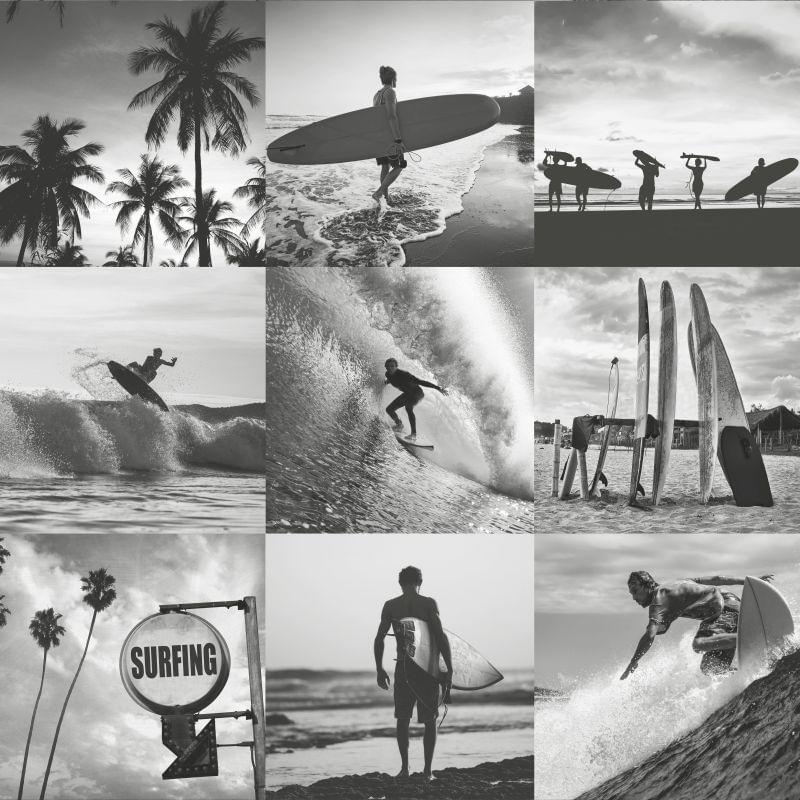 Papel de Parede Regatta Crew Fotos de Surfistas 138955 - Rolo 10m x 0,53m