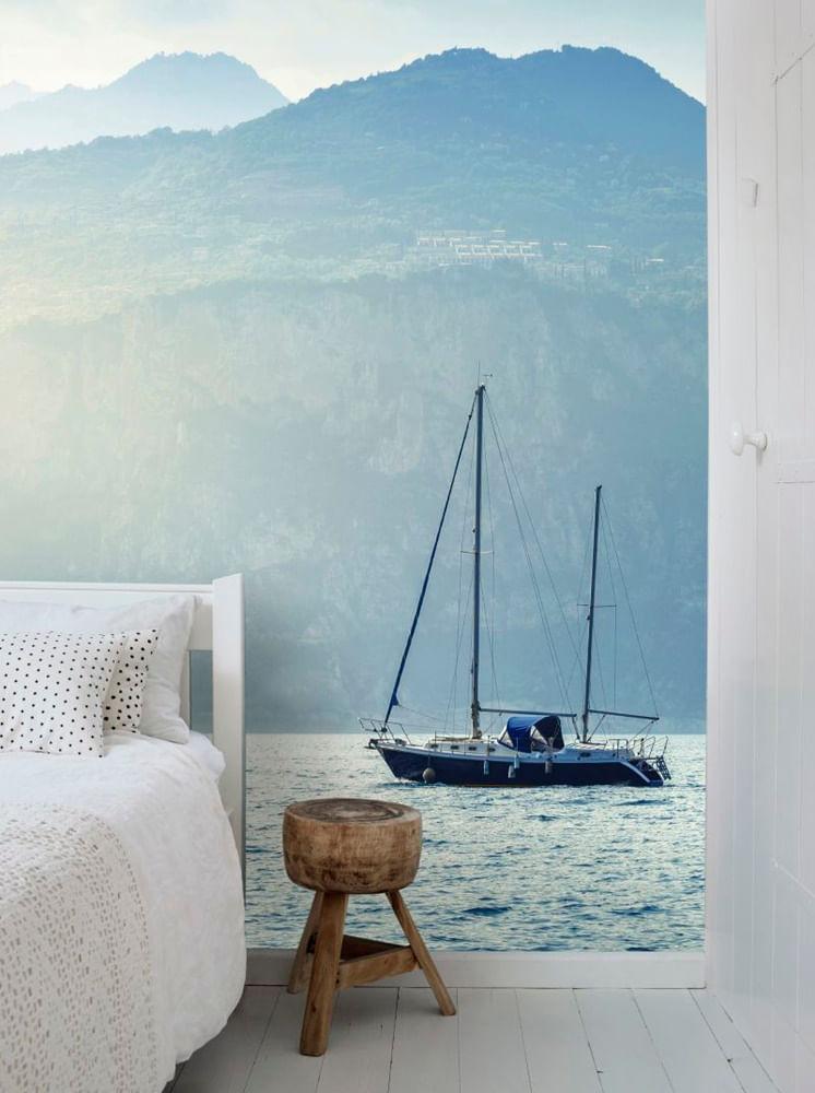 Mural de Parede Regatta Crew Barco a Vela 158850 - Tam. 2,79m x 1,86m
