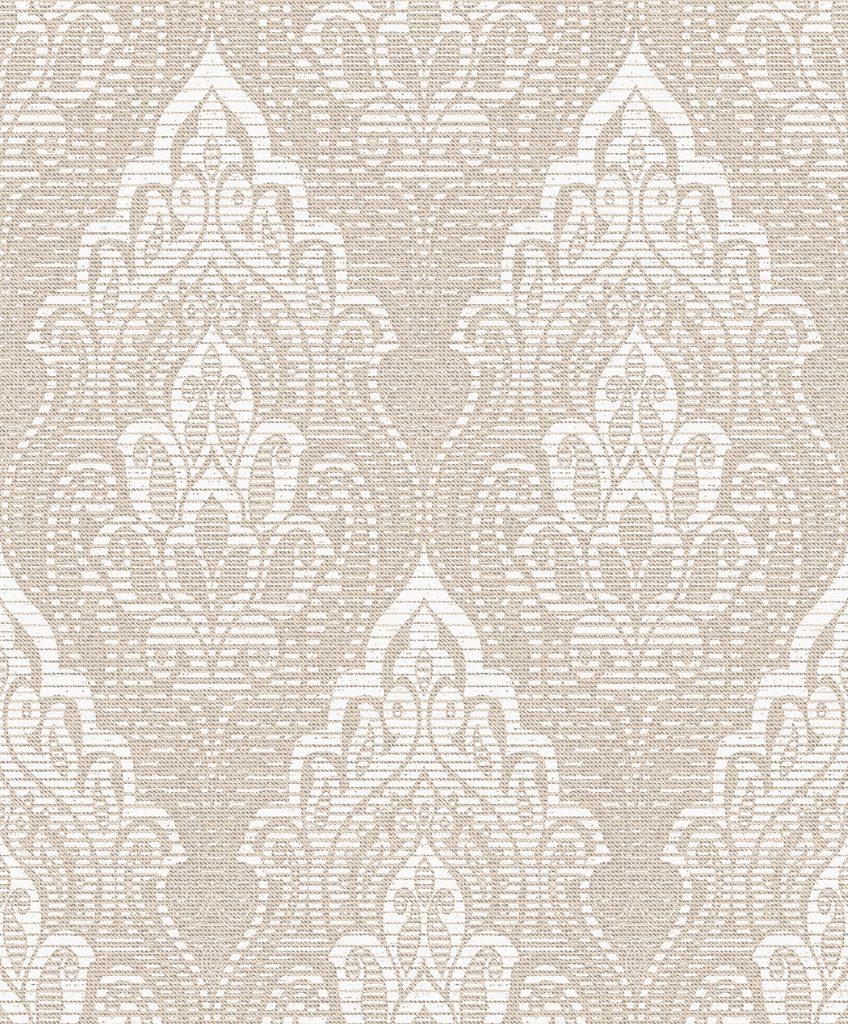 Papel de Parede Atemporal Arabesco Moderno 3816 - Rolo: 10m x 52cm