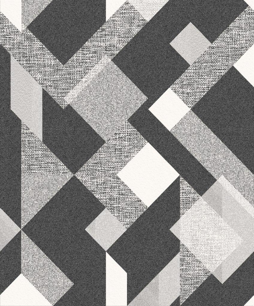 Papel de Parede Atemporal Geométrico Espanso 3810 - Rolo: 10m x 52cm