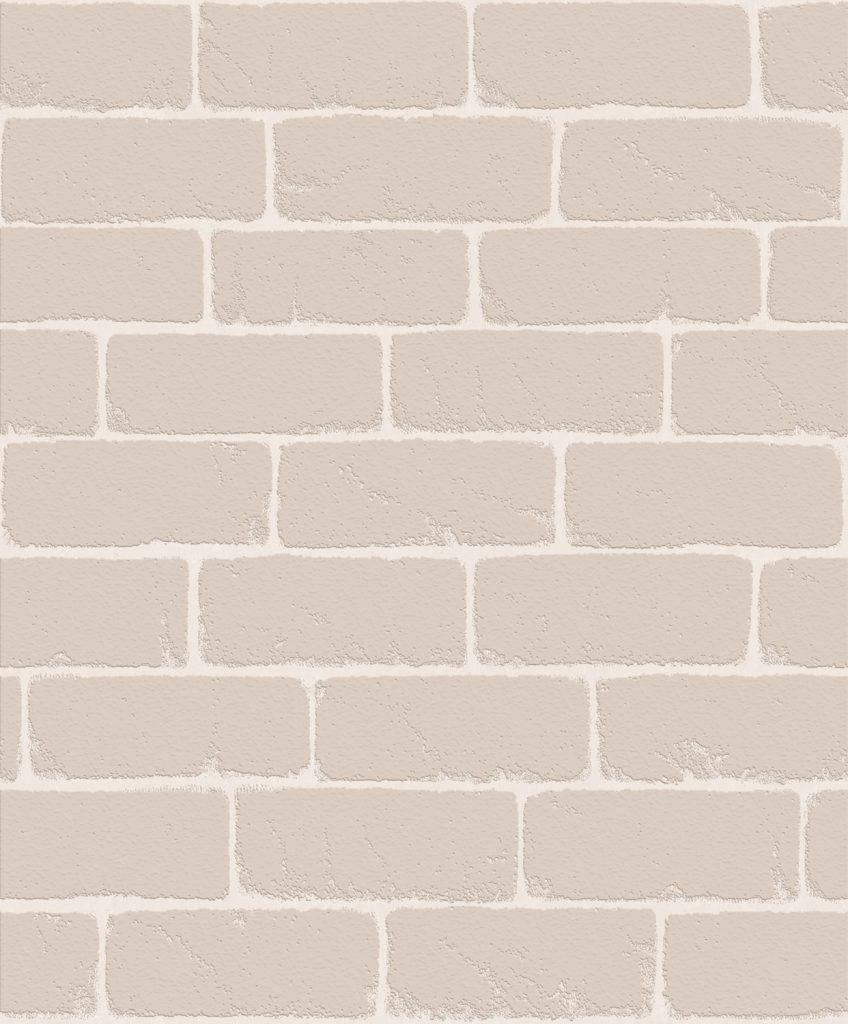 Papel de Parede Atemporal Tijolo 3806 - Rolo: 10m x 52cm
