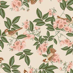 Papel-de-Parede-Vinilico-Contemporaneo-Romantico-Floral-Bege-4112