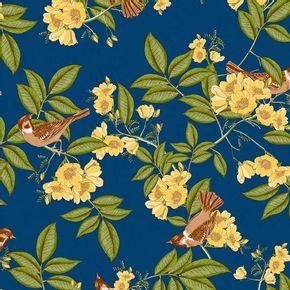 Papel-de-Parede-Vinilico-Contemporaneo-Romantico-Floral-Azul-Marinho-4110