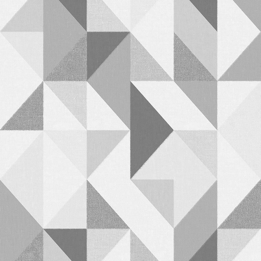 Papel de Parede Vinílico Contemporâneo Geométrico 4122 - Tam: 10 Metros