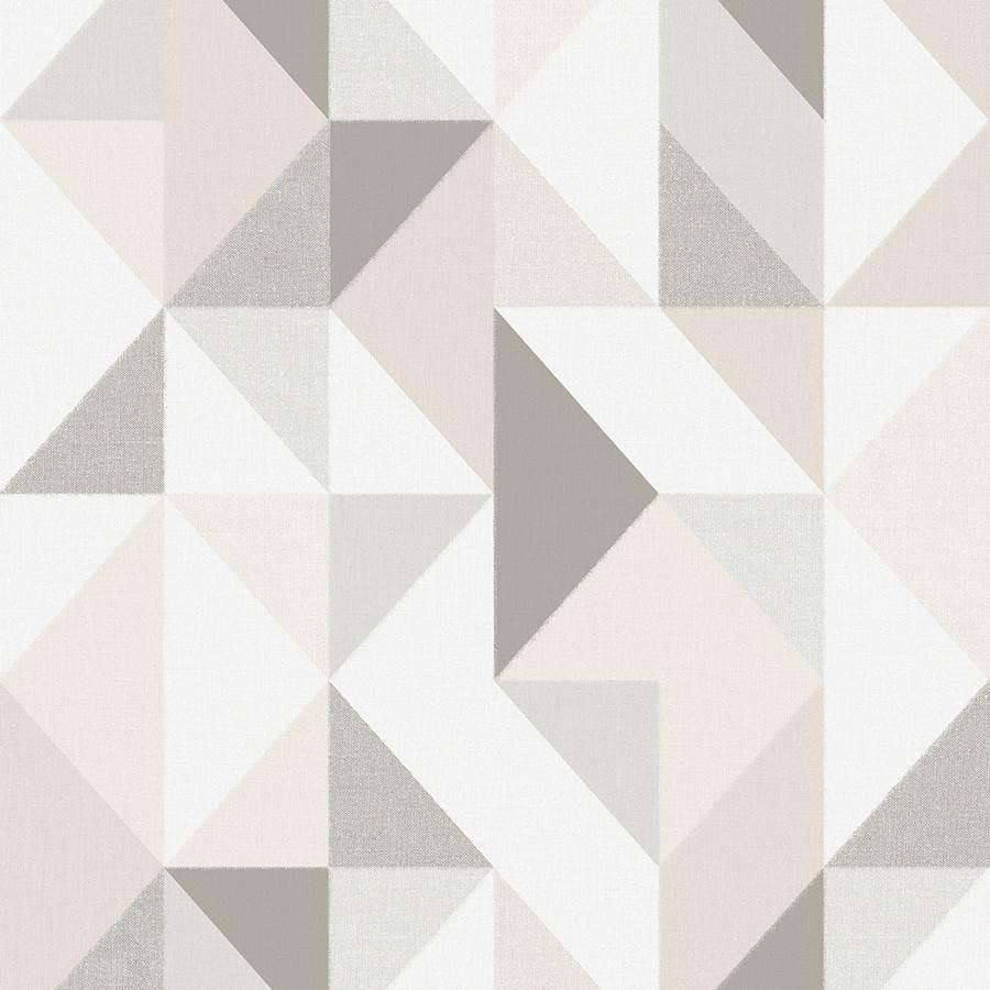 Papel de Parede Vinílico Contemporâneo Geométrico 4117 - Tam: 10 Metros