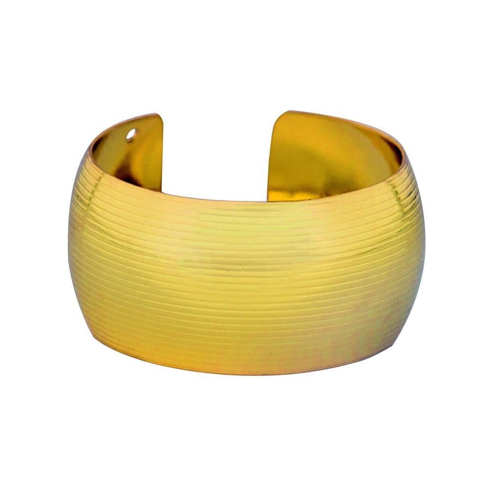 Jogo 6 Anéis de Guardanapo Argélia Dourado - AG1818DO